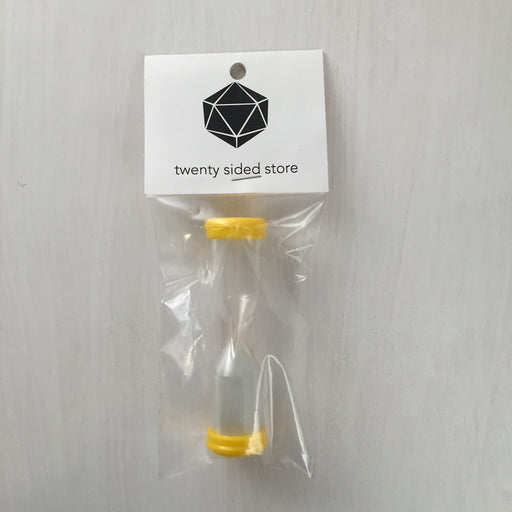 Sand Timer (3 minutes) yellow
