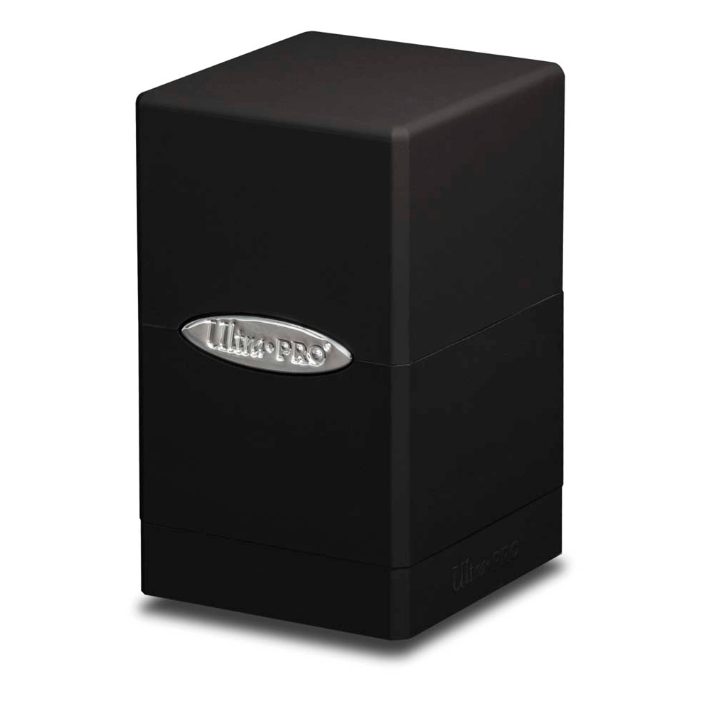 Deck Box - UP Satin (100ct) Tower : Black