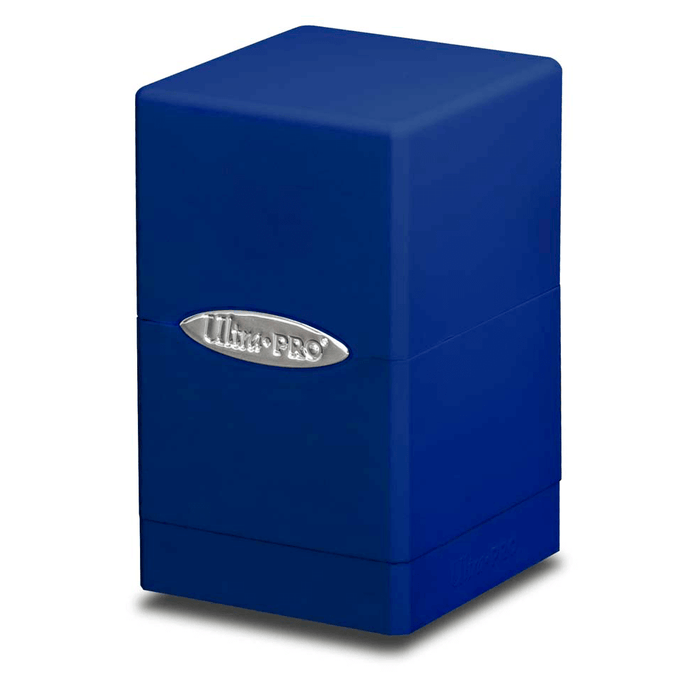 Deck Box - UP Satin (100ct) Tower : Blue