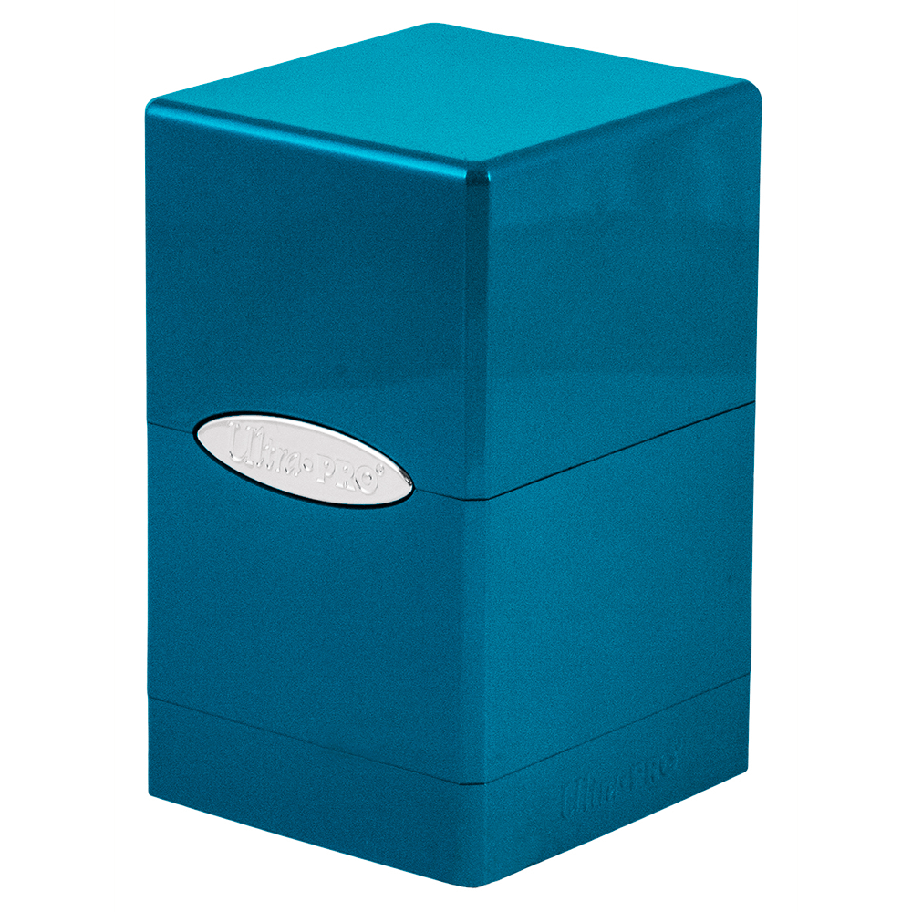 Deck Box - UP Satin (100ct) Fire & Ice Tower : Blue