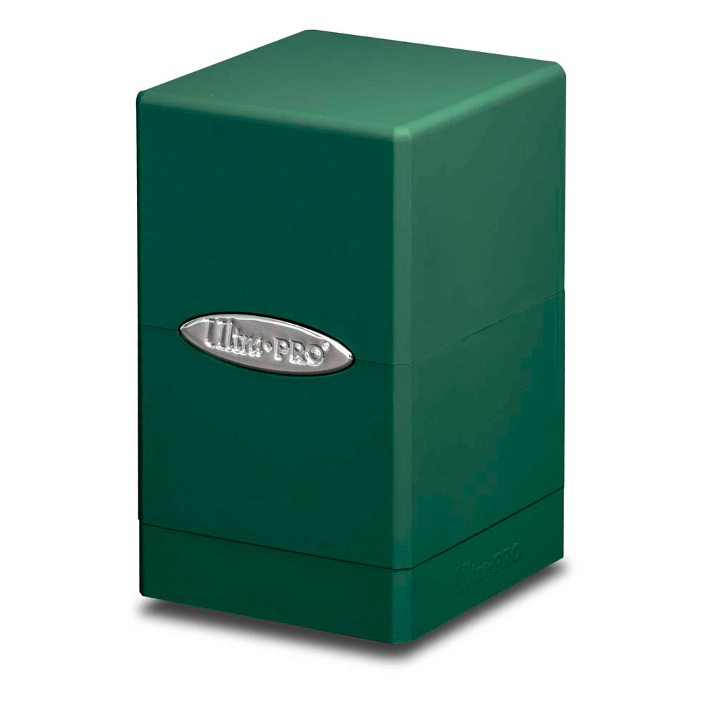 Deck Box - UP Satin (100ct) Tower : Green