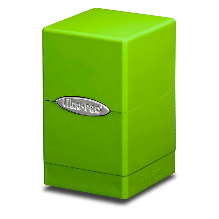 Deck Box - UP Satin (100ct) Tower : Green Lime