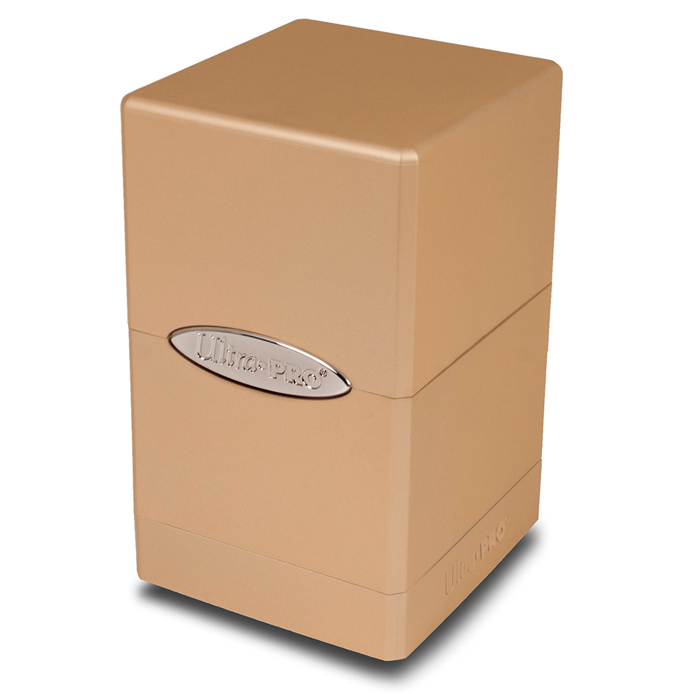 Deck Box - UP Satin (100ct) Metallic Tower : Caramel