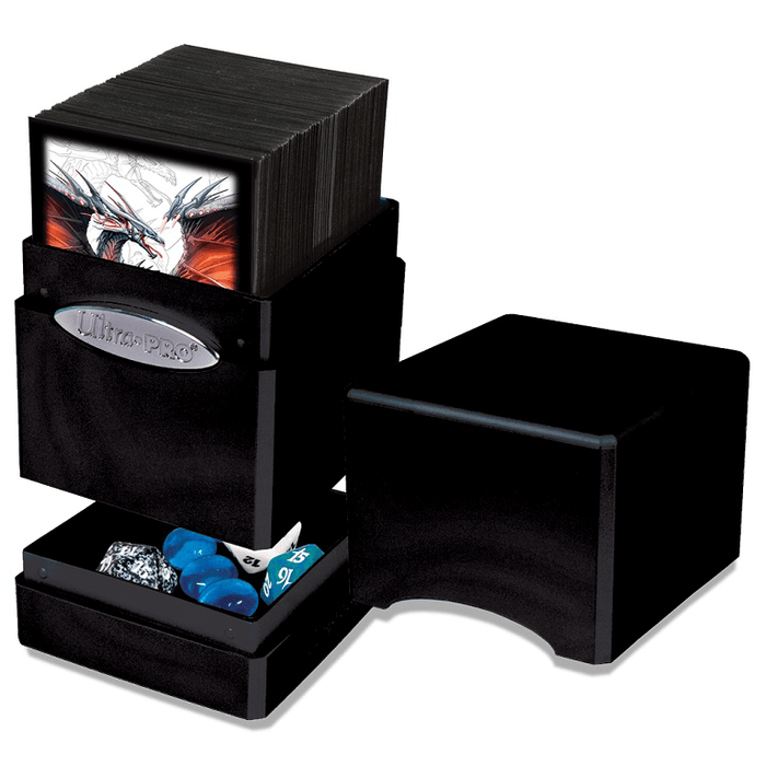 Deck Box - UP Satin (100ct) Metallic Tower : Midnight