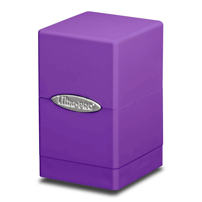 Deck Box - UP Satin (100ct) Tower : Purple