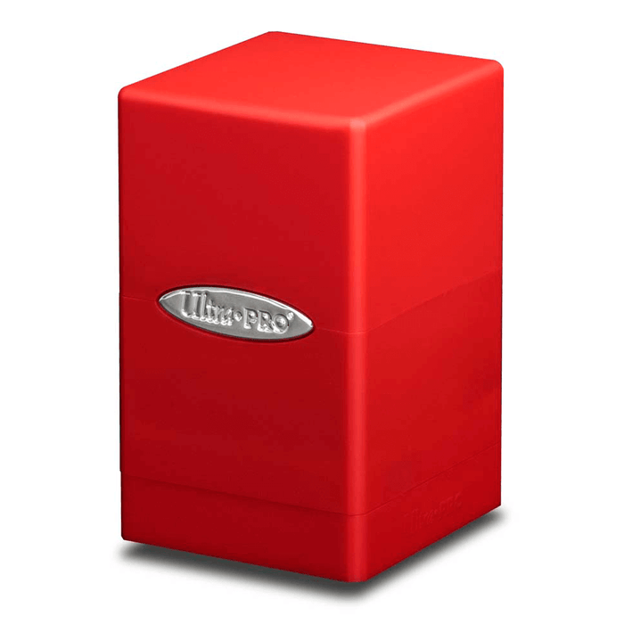 Deck Box - UP Satin (100ct) Tower : Red