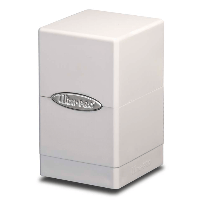 Deck Box - UP Satin (100ct) Tower : White