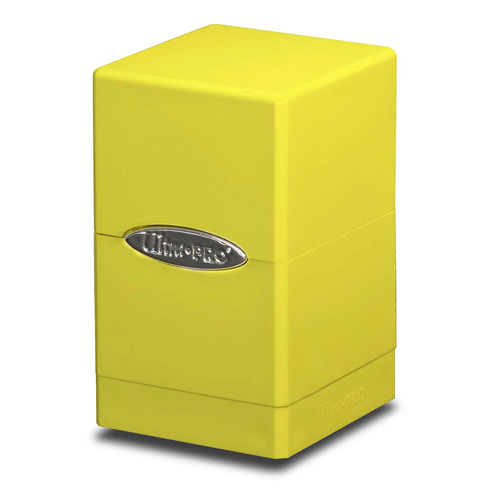 Deck Box - UP Satin (100ct) Tower : Yellow