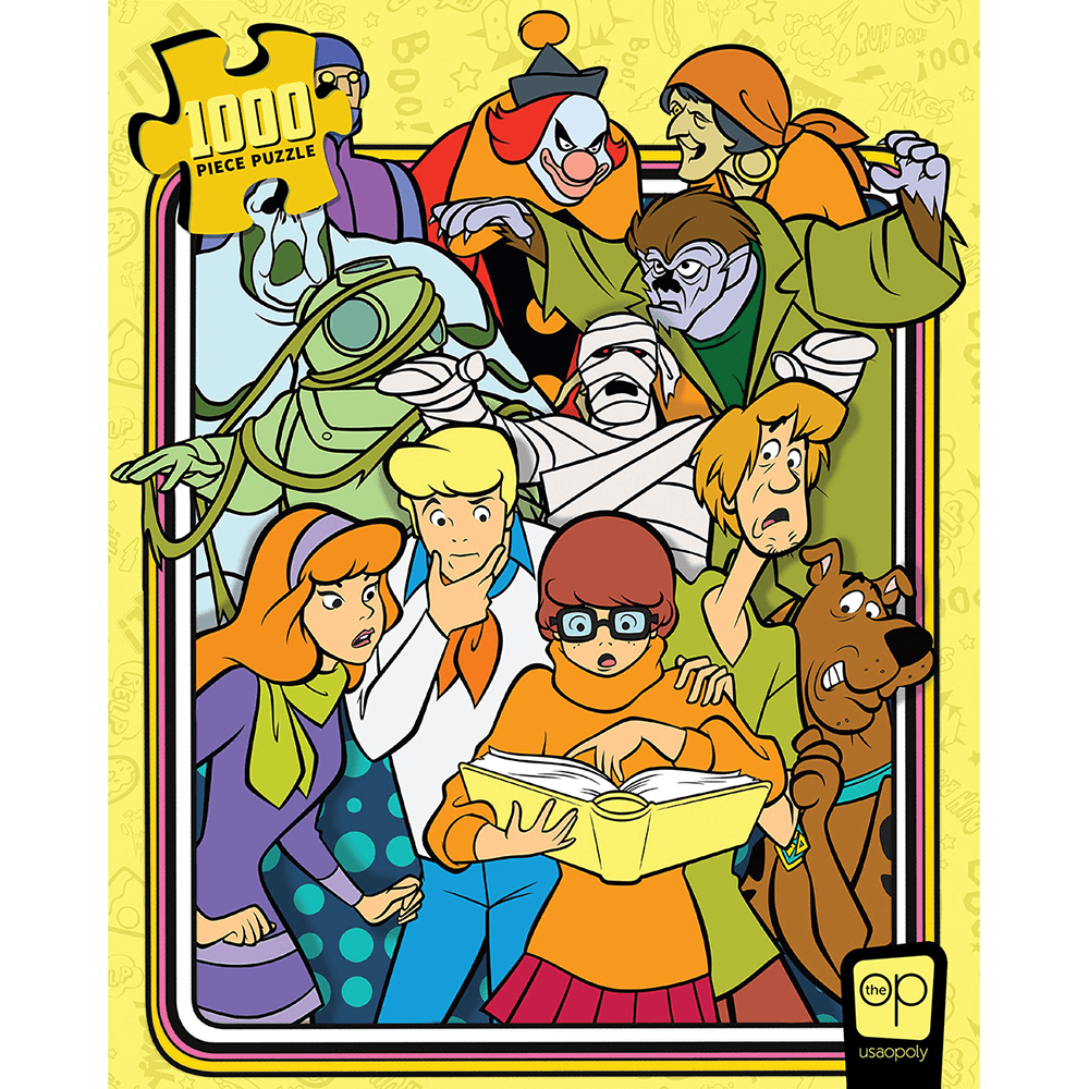 Puzzle (1000pc) Scooby-Doo : Those Meddling Kids