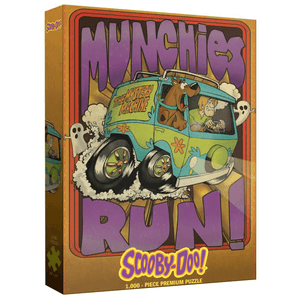 Puzzle (1000pc) Scooby-Doo : Munchies Run