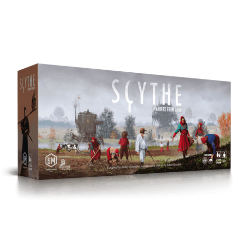 Scythe Expansion : Invaders From Afar