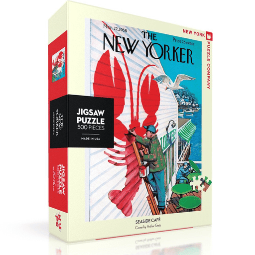 Puzzle (500pc) New Yorker : Seaside Cafe
