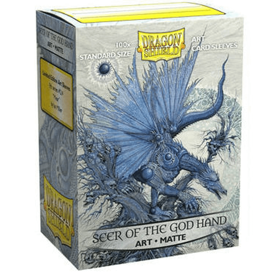 Sleeves Dragon Shield (100ct) Matte : Seer of the God Hand