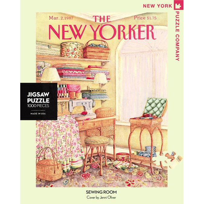 Puzzle (1000pc) New Yorker : Sewing Room