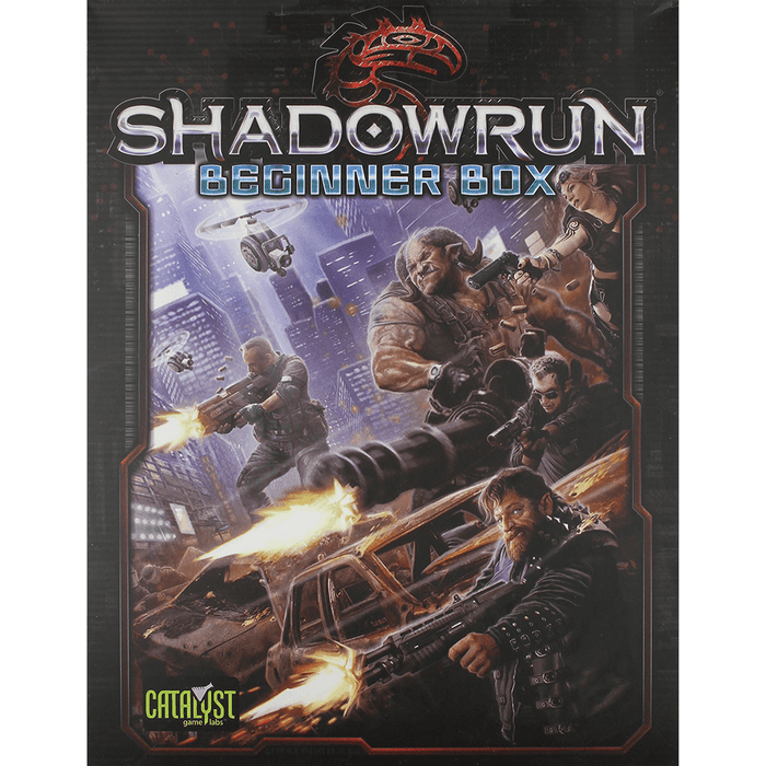 Shadowrun (5th ed) Beginner Box