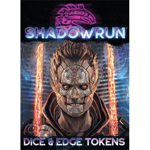 Shadowrun Dice & Edge Token