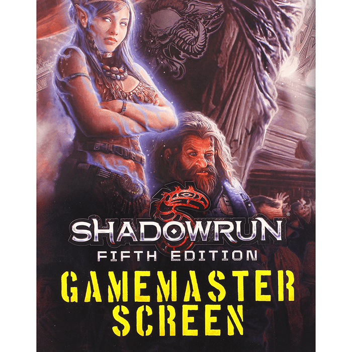 Shadowrun (5th ed) GM Screen