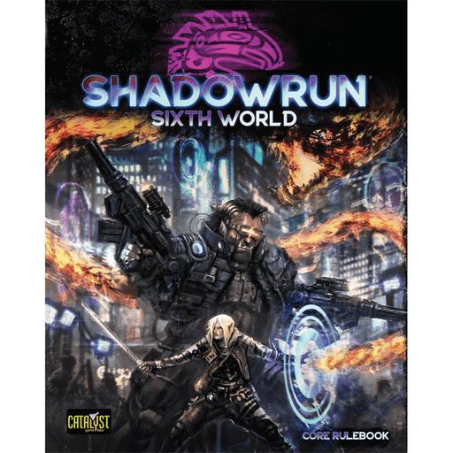 Shadowrun (6th ed) Sixth World Core Rulebook