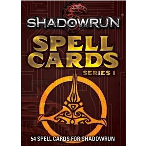 Shadowrun (5th ed) Spell Cards Series 1