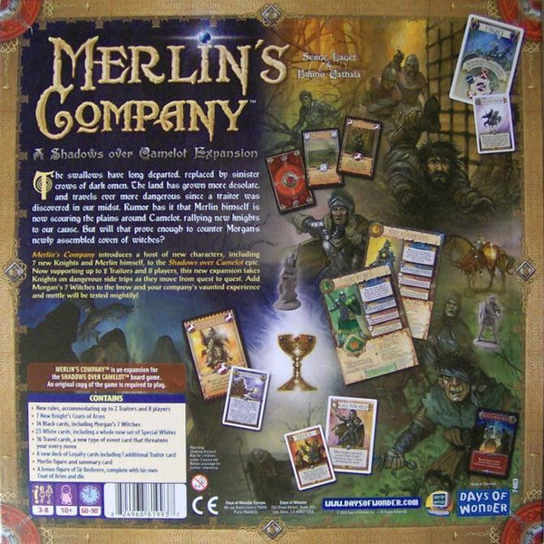 Shadows Over Camelot Expansion : Merlin's Company