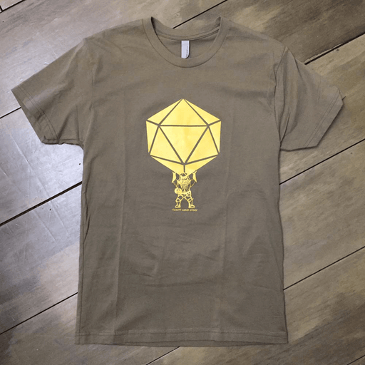 T-Shirt - Dwarf : Green / Gold - S