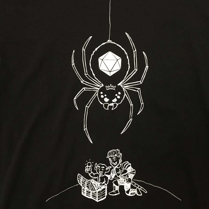 T-Shirt - Spider Queen by Bill Roundy - S