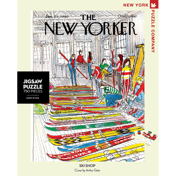 Puzzle (750pc) New Yorker : Ski Shop