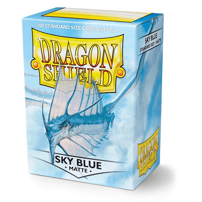Sleeves Dragon Shield (100ct) Matte : Sky Blue