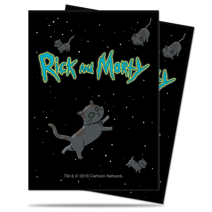 Sleeves Ultra Pro (100ct) Rick and Morty : Cat in Space