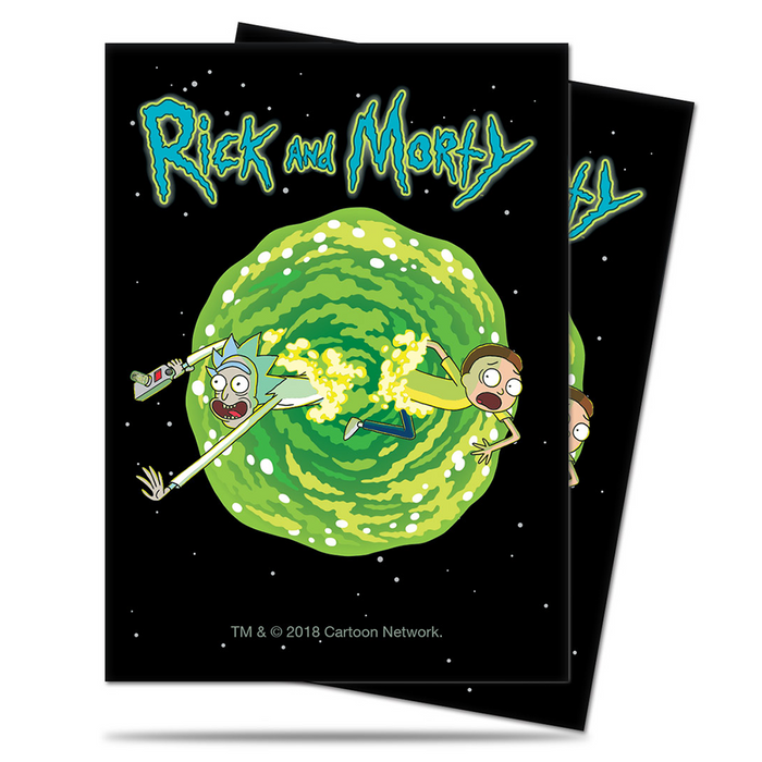 Sleeves Ultra Pro (100ct) Rick and Morty : Portal