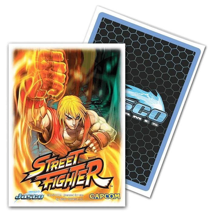 Sleeves Dragon Shield (100ct) Street Fighter Ken