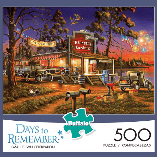 Puzzle (500pc) Days to Remember : Small Town Celebration