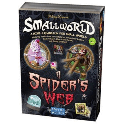 Small World Expansion : Spider's Web