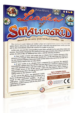 Small World Expansion : Leaders of Small World
