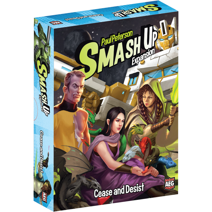 Smash Up Expansion : Cease and Desist