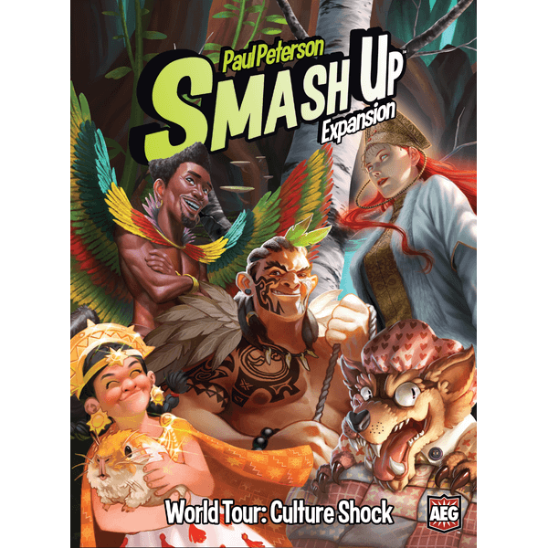 Smash Up Expansion : World Tour Culture Shock