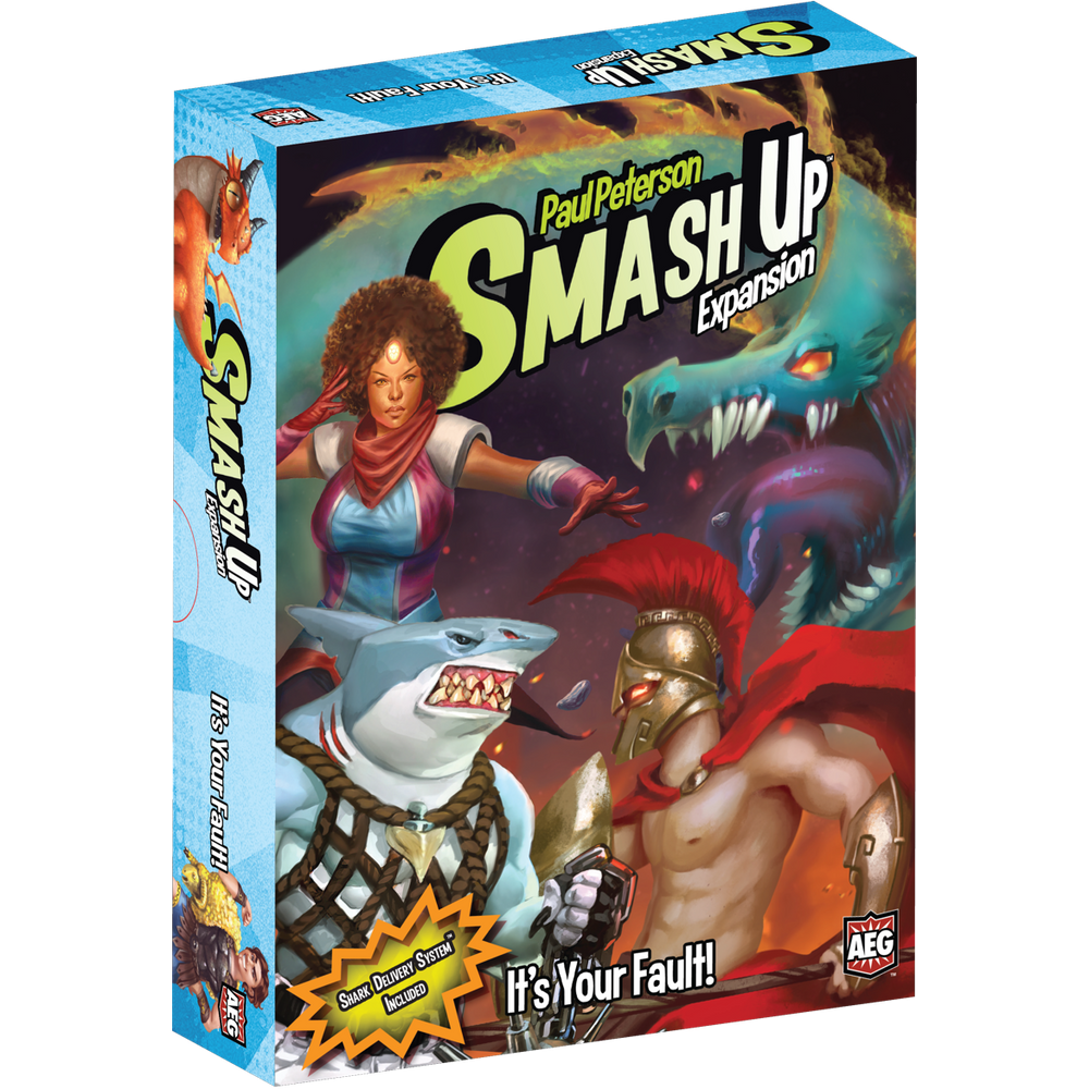 Smash Up Expansion : It's Your Fault!