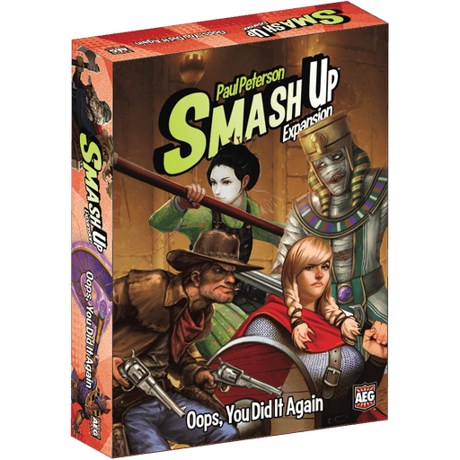 Smash Up Expansion : Oops, You Did It Again