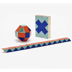 Snake Blocks (Small) Red / Blue