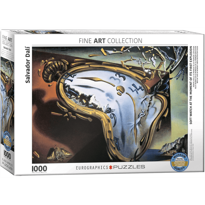 Puzzle (1000pc) Fine Art : Soft Watch at First Explosion
