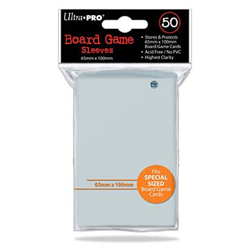 Sleeves Ultra Pro Special (Orange 65x100mm 50ct) Clear