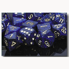 Dice Set 12d6 Speckled (16mm) 25737 Gold Cobalt