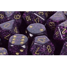 Dice 7-set Speckled (16mm) 25317 Hurricane