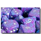 Dice 7-set Speckled (16mm) 25347 Silver Tetra