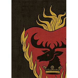 Sleeves Game of Thrones (50ct) Stannis Baratheon