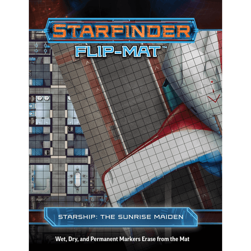 Battlemap Starfinder Flip Mat : Starship : The Sunrise Maiden