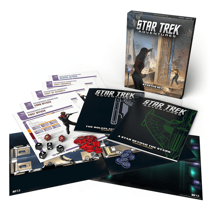 Stark Trek Adventures Starter Set