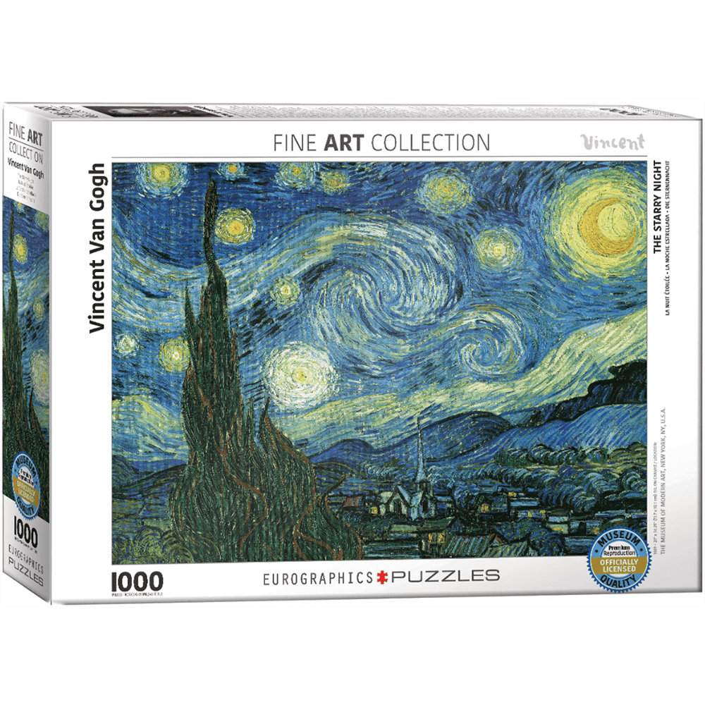 Puzzle (1000pc) Fine Art : Starry Night