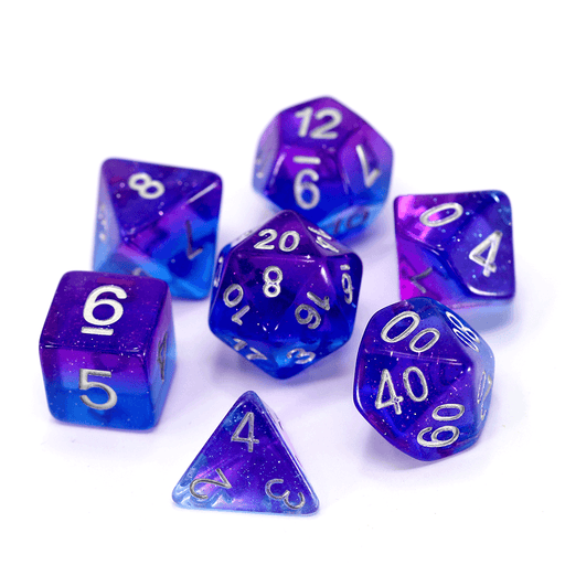 Dice 7-Set (16mm) Starry Night
