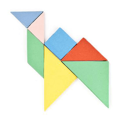 Sticky Note Tangram